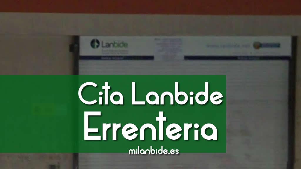CITA PREVIA LANBIDE ERRENTERIA